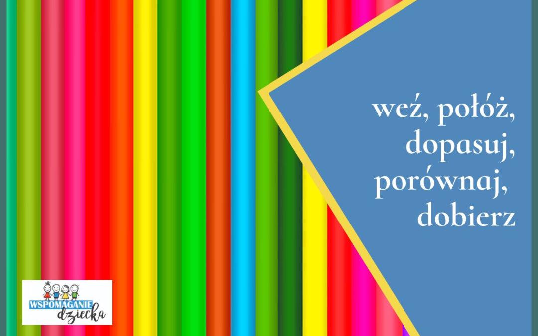Linie,kolory – nauka w zabawie